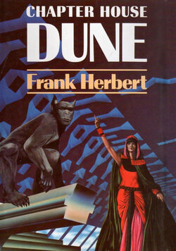Chapterhouse Dune cover 1985