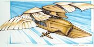 Ornithopter in Flight