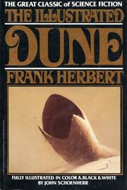 The Illustrated Dune cover