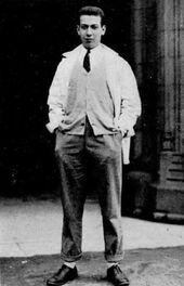 Ferrer Jose 1933 Nassau Herald
