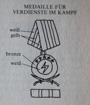 Medaille für Verdienste im Kampf