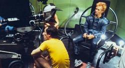 Sting filming