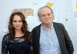 Brad Dourif and Fiona