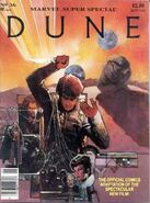 Dune movie adaptation comic