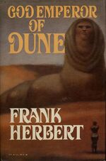 God Emperor of Dune cover 1981