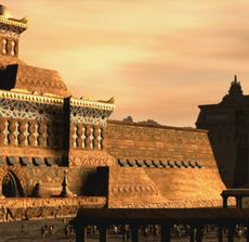 Temple of Alia wall 2003