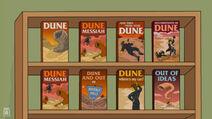 Libros de Dune en Los Simpsons