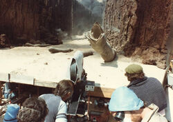 Dune 1984 sandworm filming