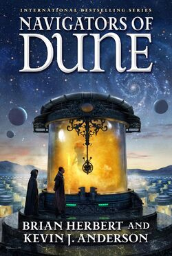 Navigators of Dune cover 2016
