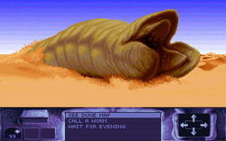 Dune game sandworm