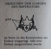 Abzeichen der Garden des Imperators