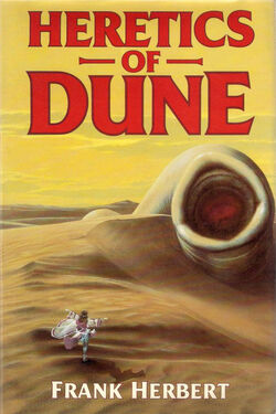 Heretics of Dune cover 1984