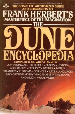 The Dune Encyclopedia cover