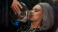 Jessica drinks Water of Life 1984