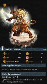 Striped Crusader