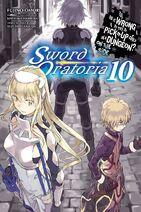 Sword Oratoria Light Novel Volume 10 Eng Cover