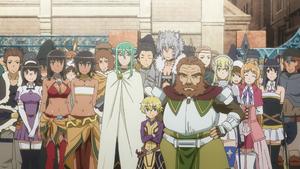 Loki Familia Anime