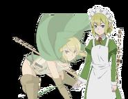 Ryuu Lion Orario Rhapsodia Character Art 2