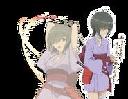 Hitachi Chigusa Orario Rhapsodia Character Art