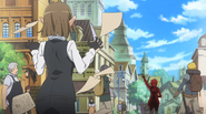 Eina and Bell DanMachi Anime