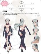 Freya Character Art