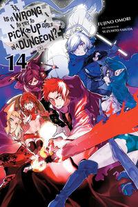 DanMachi Light Novel Volume 14 Eng Cover