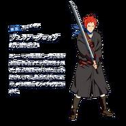 Welf DanMachi XI Character Art