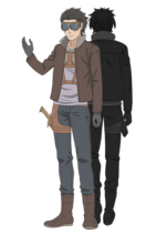 Dix Perdix Character Art