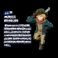 Hermes DanMachi XI Character Art