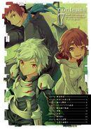 DanMachi Manga Volume 7 Contents