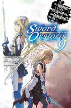 Sword Oratoria Light Novel Volume 9 Eng Cover