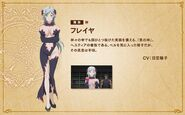 Freya Infinite Combate Character Art