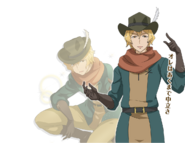 Hermes Orario Rhapsodia Character Art
