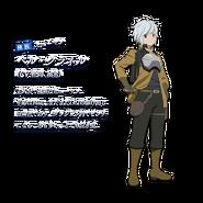 Bell Cranel DanMachi XI Character Art