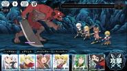 DanMemo Battle Screen