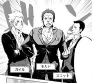 Mord, Guile and Scott - Episode Ryuu Manga 1