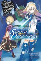 Sword Oratoria Light Novel Volume 5 Eng Cover