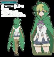 Ryuu Lion Movie Character Art