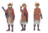 Hermes Arrow of Orion Character Art