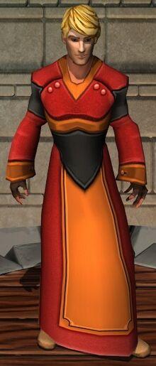Fiery Velvet Robes