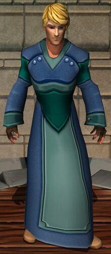 Aquatic Velvet Robes