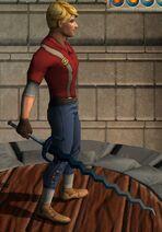 Aquatic Kris Sword