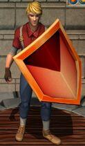 Fiery Kite Shield