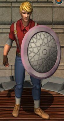 Aerial Round Shield