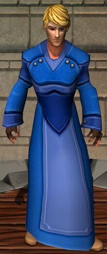 Big Blue Robe