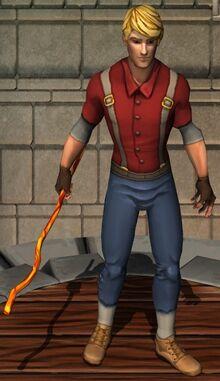 Fiery Staff
