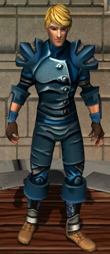 Aquatic Leather Armor