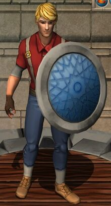 Aquatic Round Shield