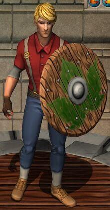 Earthen Wooden Shield