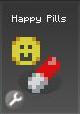 Item d happy pills grey